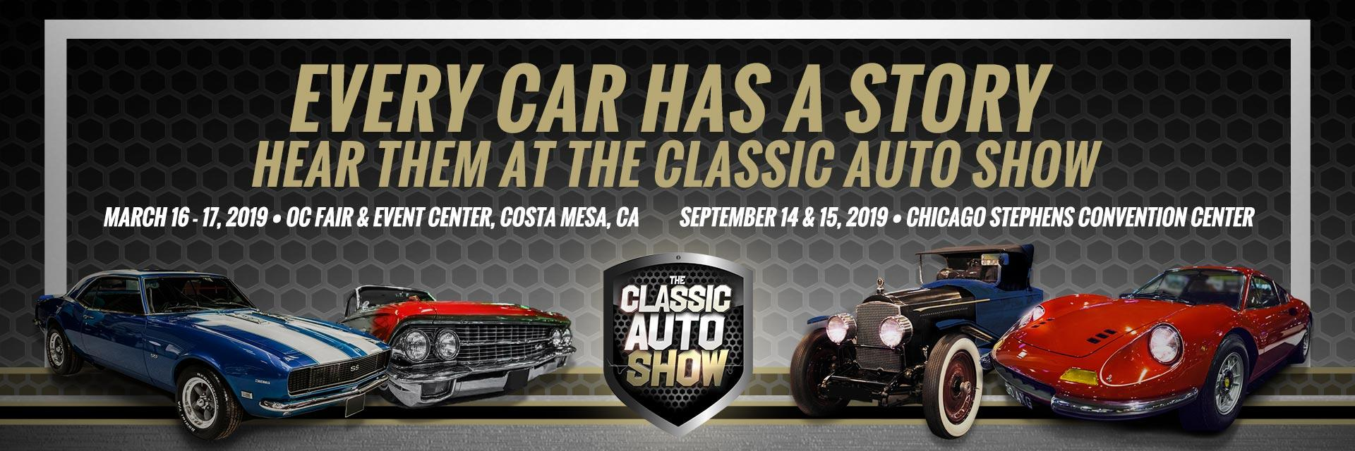 The Classic Auto Show - Car show tickets 2018