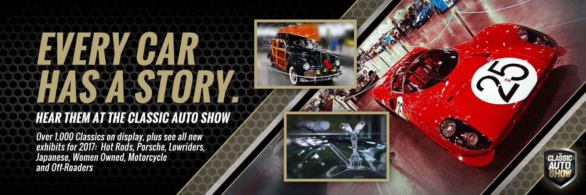 1000 Classic Autos on Display at The Classic Auto Show