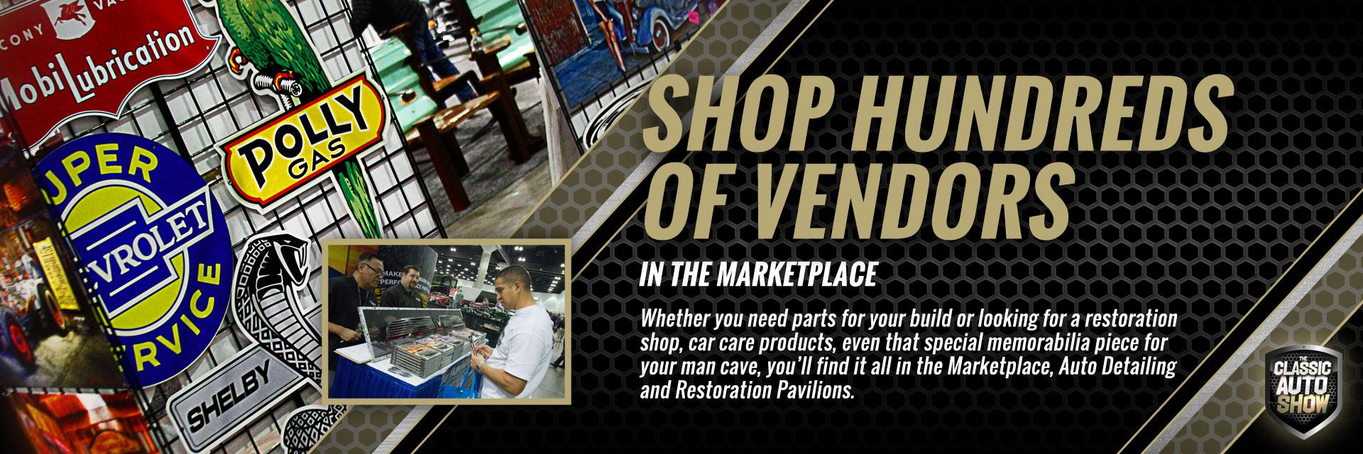Shop Hundreds of Vendors