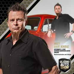 Dave Kindig, Host of Bitchin' Rides on the Velocity Network