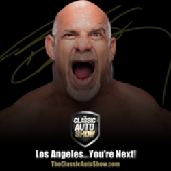 Bill Goldberg, Professional Wrestler and Automobile Aficionado