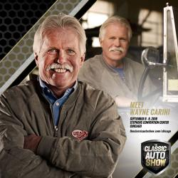 Wayne Carini, Host of Chasing Classic Cars on the Velocity Network